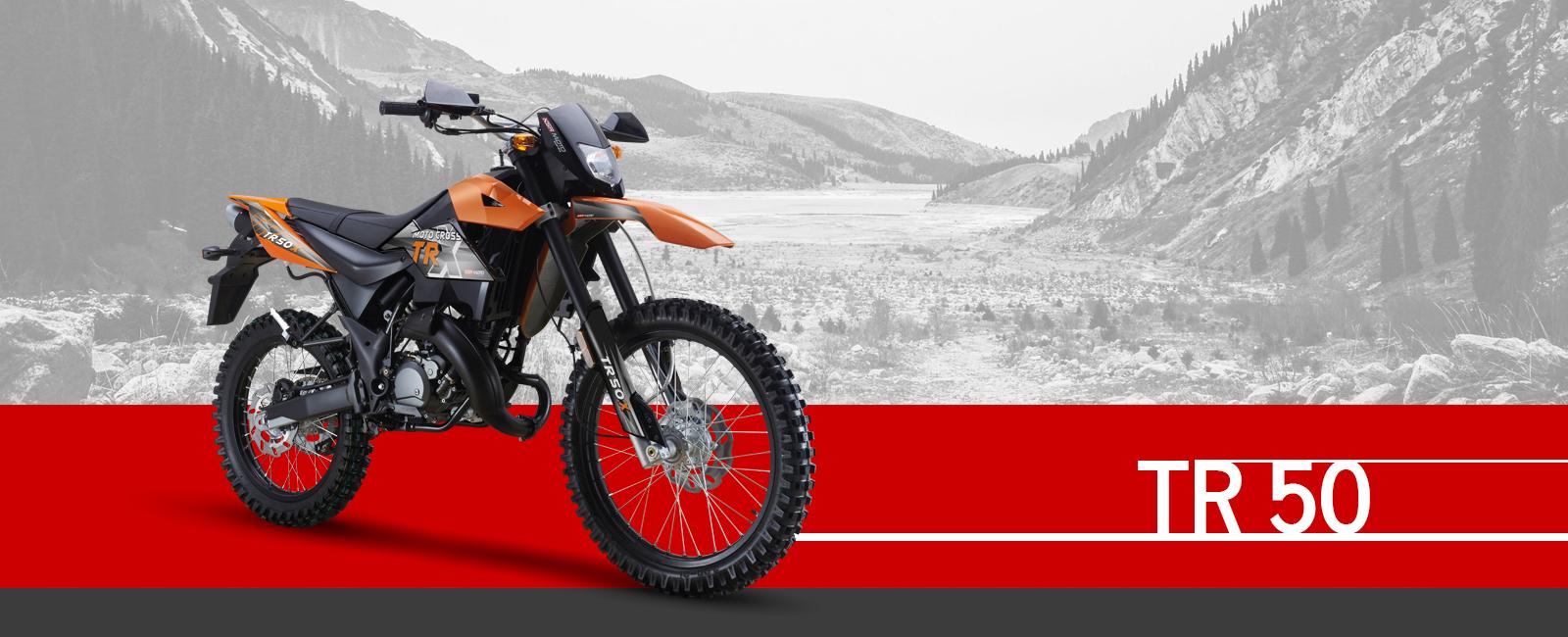 KSR-MOTO TR 50 X motocross enduro